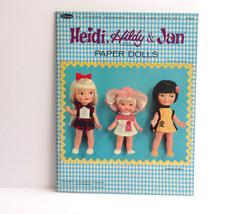 "Vintage Original Paper Doll Book ""Heidi, Hildy ... - $46.55"