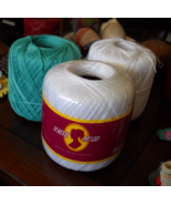 Lot of Three Balls of Southmaid Crochet Thread ... - $5.99