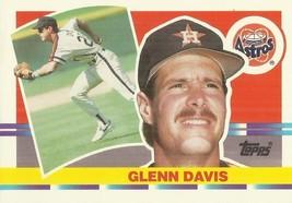 1990 Topps Big #122 Glenn Davis - $0.50