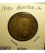 Silver Australia Florin 1942 - $13.00