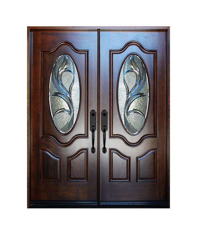 Double Exterior Front Entry Wood Door M800g 30 X80 X2 Right Hand Swing In Doors