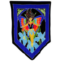 PAGAN/SPIRITUAL Butterfly Goddess Drop Banner/wall hanging.70x84cm - $39.79