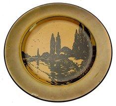 Royal Doulton D3416 Black Transfer Dinner Plate - $25.47