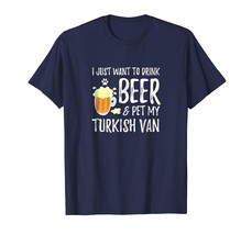 New Shirts - Beer and Turkish Van Shirt Funny New Mom or New Dad Gift Men - $19.95+