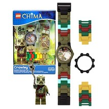 Lego Year 2013 Legends of Chima Series Watch with Minifigure Set #9000416 - CRAW - $37.99