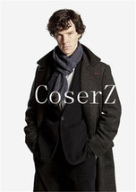 Sherlock Holmes Cosplay Scarf Cashmere Thickening Sherlock Holmes - £22.66 GBP