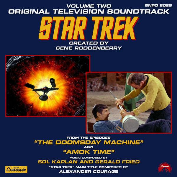 Star Trek The Next Generation TV Soundtrack CD Vol 2 NEW UNUSED