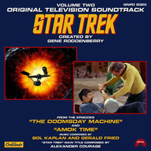 Star Trek Classic TV Music Soundtracks Volume 2 Cassette GNP NEW UNPLAYE... - $3.99
