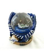 Los Angeles Dodgers Baseball Glove Snow Globe Legends of the Diamond MLB... - $296.99