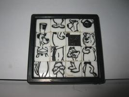 vintage 1960's Roalex Hanna-Barbera Sliding Puzzle - Yogi, Boo-Boo, Top ... - $45.00
