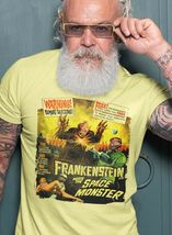 Frankenstein Meets The Space Monster T Shirt B Movie sci fi vintage cotton tee image 3