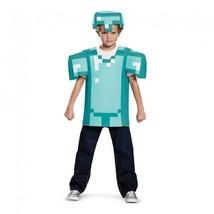Disguise Mojang Minecraft Armor Classico Bambino Unisex Costume Hallowee... - £28.56 GBP