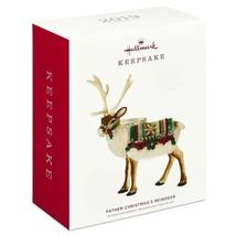 Hallmark Keepsake 2019 Father Christmas'S Reindeer Limited Ornament New ... - $30.83