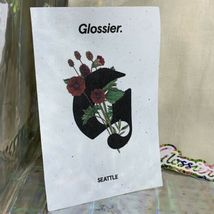 NEW Hard To Find Set! Glossier Seattle Pop Up Tote Sticker Postcard Rare image 4