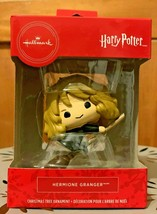 Hallmark 2019 Harry Potter Hermione Granger on Broom Boxed Christmas Orn... - $14.99