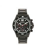 Breed Pegasus Bracelet Watch w/Day/Date  - Black - $420.00