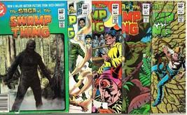 Five 1982-3 DC Comics:The Saga of The Swamp Thing No's 2-4-7-8-10 - $2.99