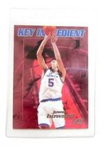 1997-98 Fleer Key Ingredient Washington Wizards Basketball Card #4 Juwan... - $1.73