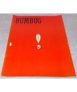 Vintage Humbug Comic Satire Humor Magazine October 1958 Vol 1 No 11 - $19.95