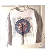 Best American Clothing Co. Floral Long Sleeve Top Sz Medium - $23.74