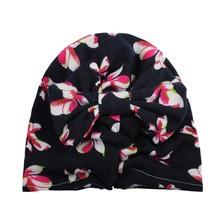 Cute Baby Velvet Hat Girls Boys born Bohemia Style Bowknot Hats Spring A... - £6.05 GBP