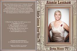 ANNIE LENNOX - EVEN MORE TV DVD - $23.50
