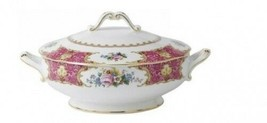 Royal Albert Lady Carlyle Covered Vegetable Dish Bowl New with Tag - $336.60