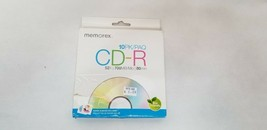 Memorex Value Added 700MB/ 80 Minute 52X CD-R 10 Pack New HL1 - $6.00