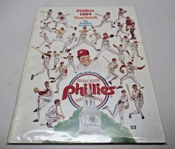 1984 Philadelphia Phillies Official Yearbook MLB Baseball Clean - $10.90