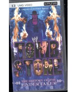 WWE Tombstone The History of the Undertaker for Sony PSP UMD( Movie) - $9.95