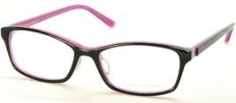 New Prodesign Denmark 1733-1 6022 Shiny Black /PINK Eyeglasses Frame 51-15-135mm - $73.76