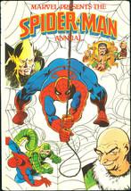 Marvel Presents Spider-Man Annual UK Hardcover HC Rare 1981 Stan Lee Romita art - $69.00