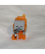 New Minecraft Mini Figure Ice Series 5 Skeleton in Flames Minifigures Cr... - $4.94