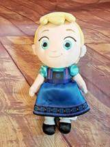 "Disney Store Toddler Elsa 12"" Plush Frozen Soft Doll - $9.49"