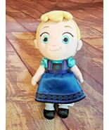 "Disney Store Toddler Elsa 12"" Plush Frozen Soft Doll - $9.49"