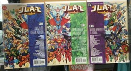 JLA-Z #1-3 (2003) VF-NM DC Comics Guide to the World's Greatest Super-Heroes - $15.68