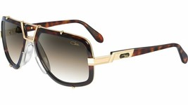 New Authentic CAZAL 656/7 624 Havana Brown / Gold Retro Frame 61mm Sungl... - $490.00