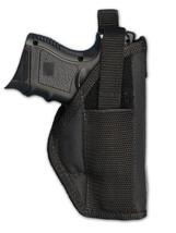 Smith & Wesson Compact cs9,cs40 Auto Nylon Belt Clip Holster Made USA le... - $14.80