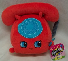 "Shopkins SOFT CHATTER TELEPHONE 5"" Plush STUFFED ANIMAL Toy NEW w/ TAG - $19.80"