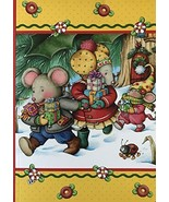 """MARY ENGLEBREIT CHRISTMAS JOURNALS-80 SHEETS-5"""" x 7""""- - $5.93"""