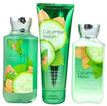 Bath & Body Works Signature Collection Cucumber Melon (Gel, Lotion & Cream) - $43.11