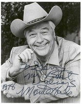 Monte Hale (d. 2009) Signed Autographed Glossy 8x10 Photo - $29.99