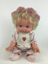 PJ Sparkles Baby Light Up Doll with Original Outfit Mattel Vintage 1989 ... - $39.55