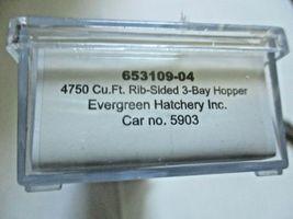 Intermountain # 653109 Evergreen Hatchery Inc. 4750' 3-Bay Covered Hopper (N) image 5