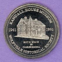 1996 Wolfville Nova Scotia Trade Token or Dollar Randall House Museum NBS - $3.00