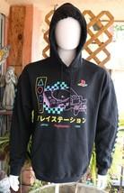 Playstation Mens Hoodie Black Sweatshirt Size L  - $39.99