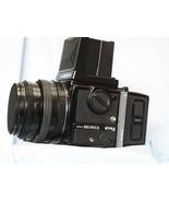 Bronica ETRSi ETRS i Camera c/w PE 75mm f2.8 + WLF + 120 Back-TESTED-NEA... - $750.00