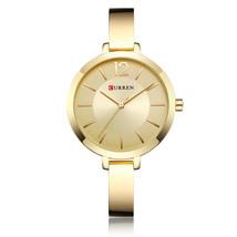 CURREN 9012 Alloy Case Casual Style Women Bracelet Watch Gift Waterproof Quartz  - $16.00