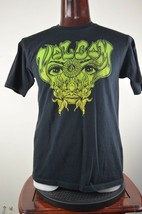 """Volcom Green Eyes Face Mens Graphic T Shirt Size Tag Missing Chest 41"""" - $28.56"""