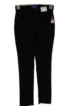 Arizona Jeans Co Jugend Mädchen Skinny Hose Tiermuster Schwarz Größe 10 Reg - $18.10
